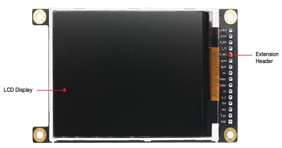 ESP-LyraP-LCD32 - front