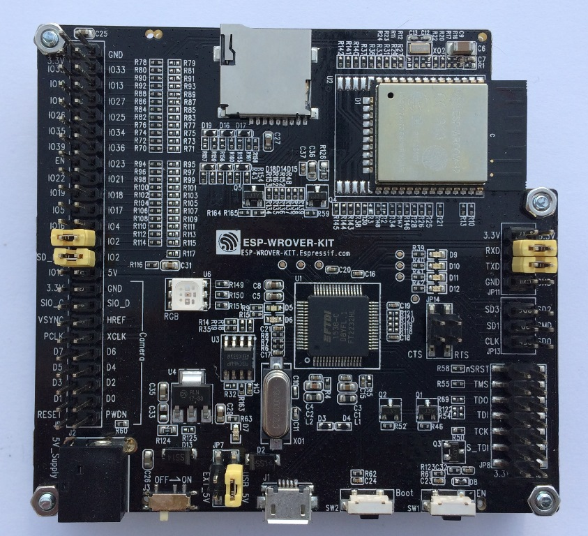 ESP32 WROVER KIT V2 board