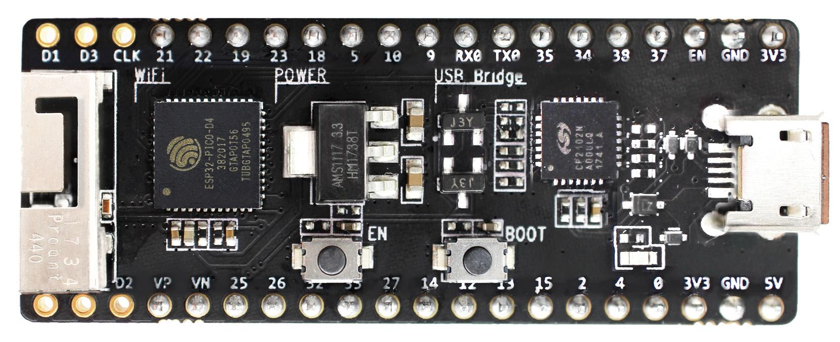 ESP32-PICO-KIT V4.1 board